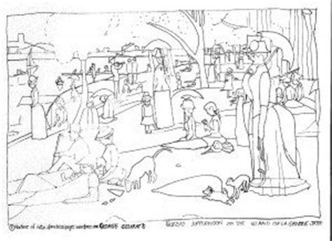 seurat s sunday afternoon on the island art appreciation