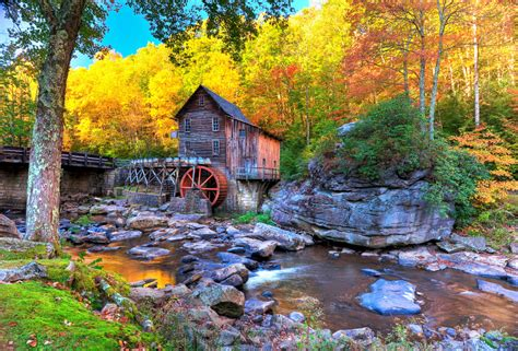 grist mill in west virginia jigsaw puzzle in