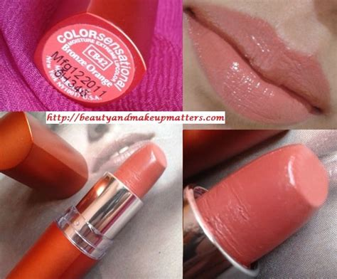 Lipstik Maybelline Orange maybelline color sensational moisture lipstick