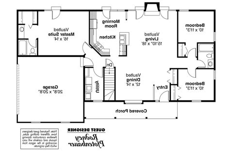ranch house plans glenwood 42 015 associated designs