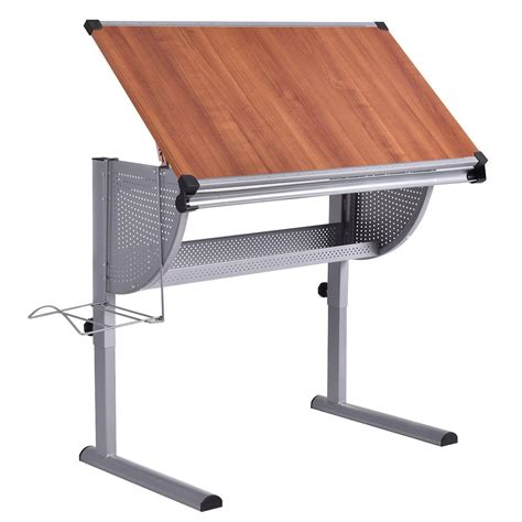Adjustable Drafting Table Drawing Desk Art Craft Hobby Studio Work Desk