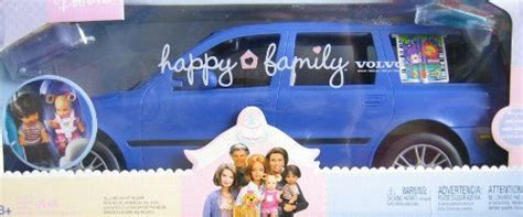 barbie cars with back barbie happy family volvo vehicle van volvo v70 suv w