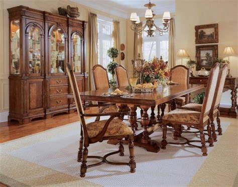 the furniture carlton manor traditional dining room set