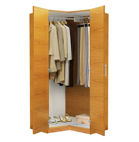 Free Standing Closet Wardrobe Alta Corner Wardrobe Closet Free Standing Corner Closet
