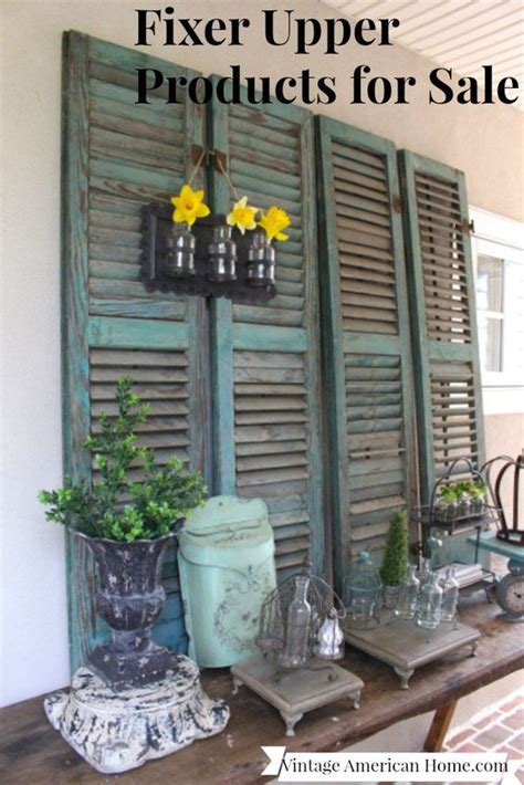 fixer upper show house for sale farmhouse style decorations available for sale online