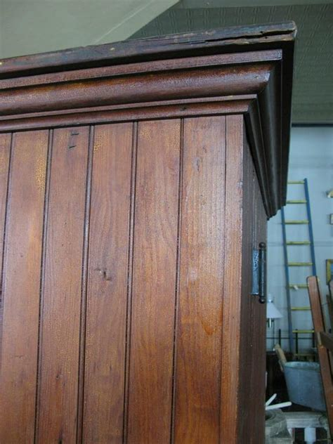 vintage beadboard antique oak beadboard cupboard for sale at 1stdibs