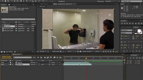 tutorial edit video after effect after effects tutorial mirror trick youtube