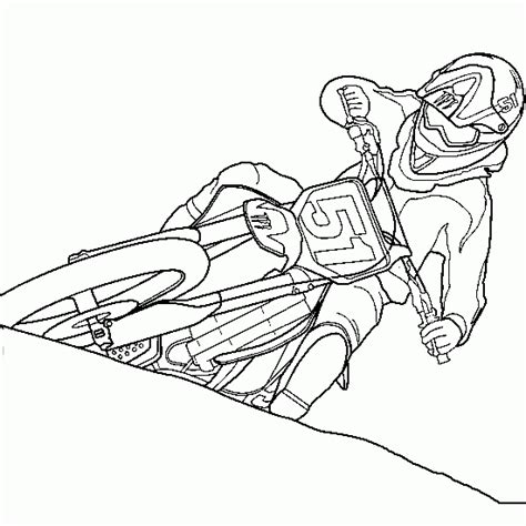 Cars And Vehicles Coloring Motocross Coloring Xgames Motocross Coloring Pages