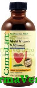 Childlife Multi Vitamin Mineral 237ml green tussin sirop copii shoogle