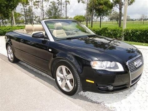 Audi Lighthouse Point by 18 649 Cars For Sale 2007 Audi A4 3 2 Quattro Cabriolet
