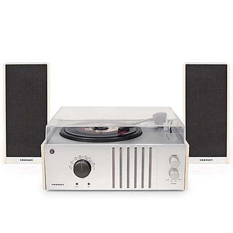 bed bath and beyond turntable crosley record player turntable with detachable speakers