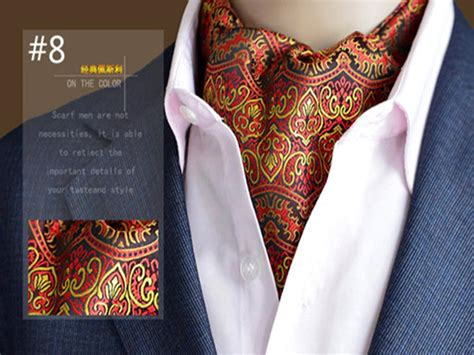 2018 high quality brand scarves mens suit paisley printing