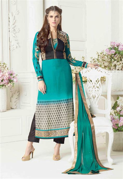 jacket design kameez buy jacket style salwar kameez online india punjabi suit