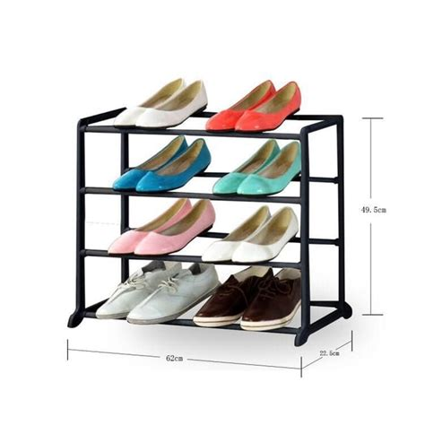 Rak Sepatu Plastik Di Pasaran jual rak sepatu tempat simpan sepatu rak sepatu 4 tingkat