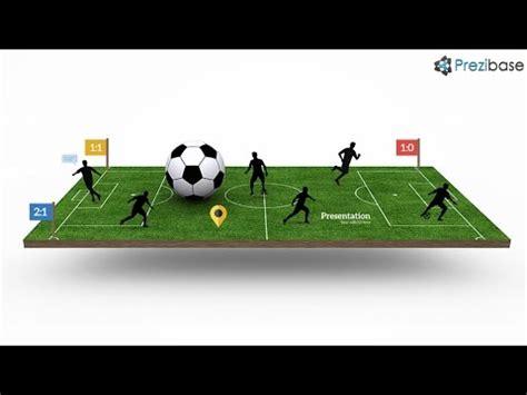 Football Pitch Prezi Template Youtube Prezi Pitch Templates