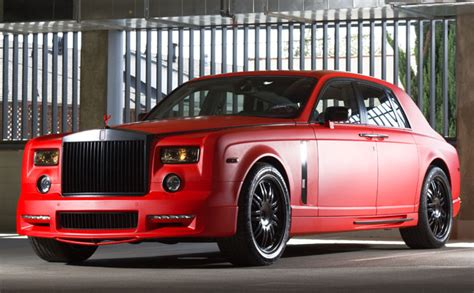 rolls royce ghost red 2007 rolls royce phantom rides magazine