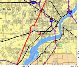 Toledo Zip Code Map by Toledo Zip Code Map Related Keywords Amp Suggestions