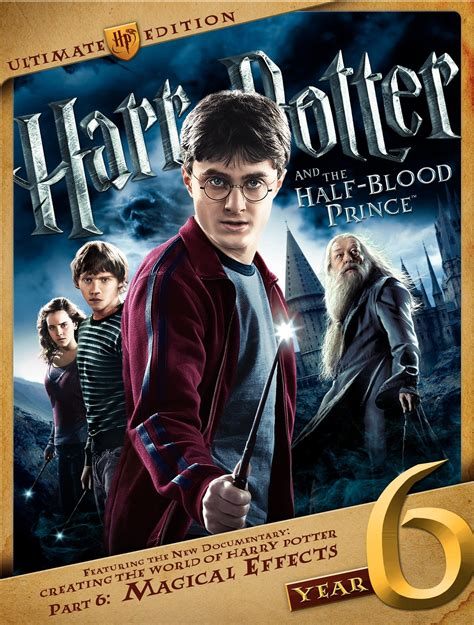 film blu six harry potter and the half blood prince dvd release date