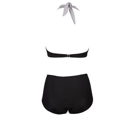 Termurah Topi Panama Wanita Anti Uv K97 baju renang wanita high waist swimsuits size l