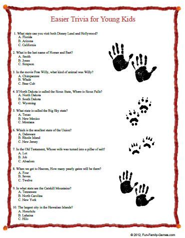 kids movie trivia questions ii trivia ch indoor games will keep children occupied busy and learning