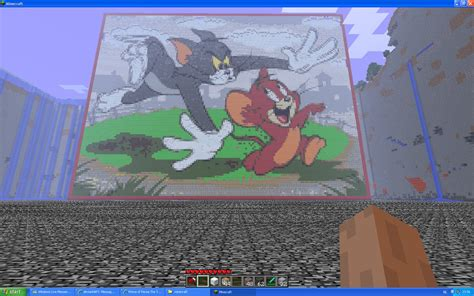 Tom And Jerry Papercraft - tom and jerry on minecraft by miccopicco on deviantart