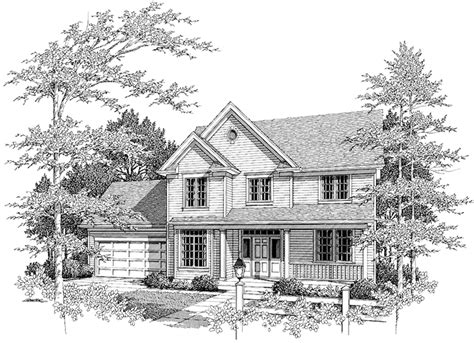 front exterior the adams floor plan 2120sq ft 2014 country style house plan 4 beds 2 5 baths 2120 sq ft
