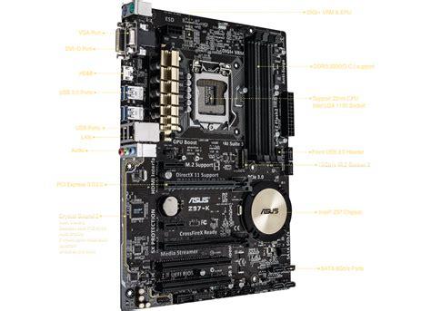 Cpu Kühler Sockel 1150 Test by Asus Z97 K Motherboard Intel I7 Processor I7 4770k Combo Set Ebay