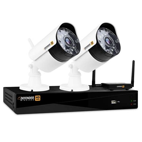 dvr security system defender wireless hd 1080p 4 channel 1tb dvr security