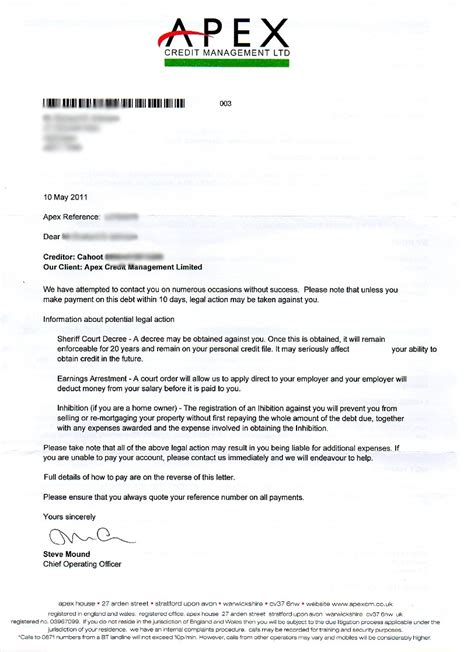 Santander Credit Letter A Forum For Individual Lawful Rebellion In All Its Forms