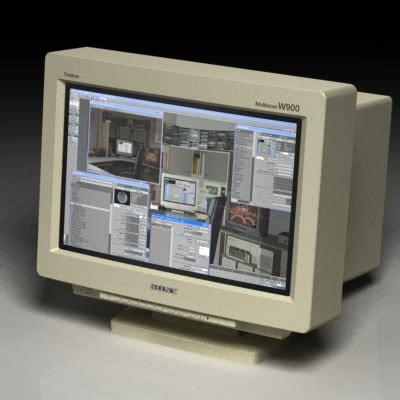 Sony W900 sony w900 crt monitor 3d model