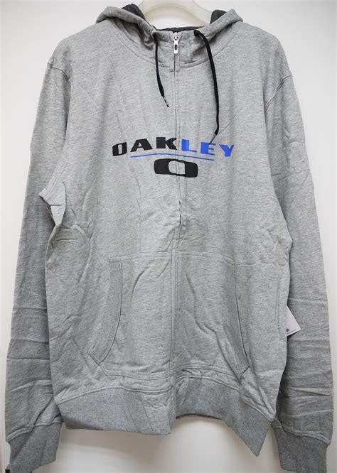 Sweater Hoodie Jumperzipper Oakley oyrzgmmm19 oakley grey marle rising sweater front zip slim fit hoodie m size sweatshirts