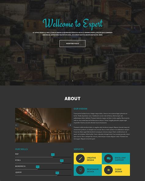 one page responsive html5 template 21 premium responsive one page html5 templates only