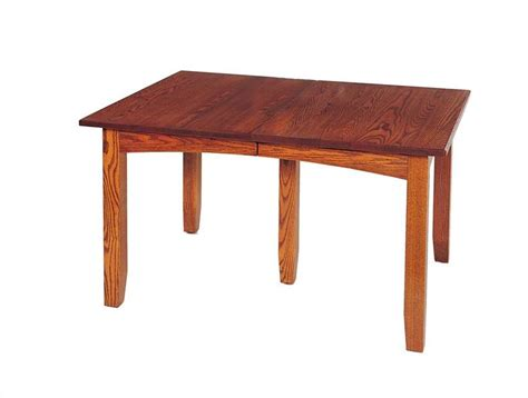 Amish Dining Room Tables Amish Mission Extension Dining Room Table Keystone Collection
