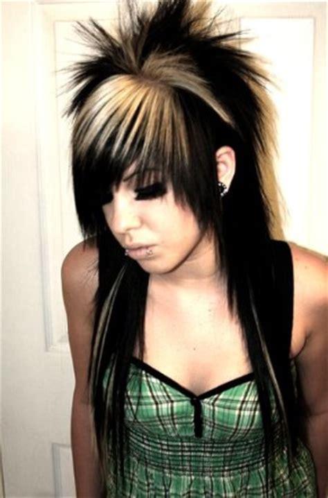 emo punk hairstyles hairstyel clebrtiy new emo girls hairstyles