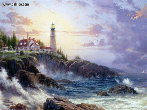 kinkade painter of light painter of light kinkade dies at 54 blogsense