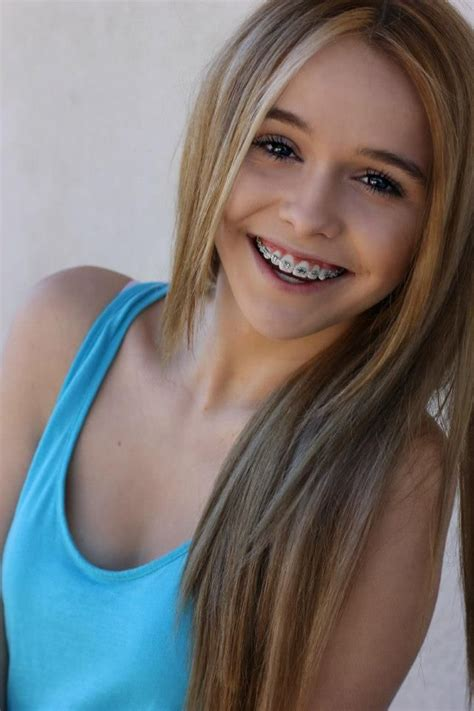 school girls braces pigtails 95 best images about white teeth braces on pinterest