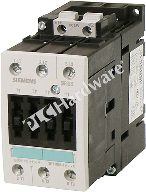 Siemens Contactor 3rt1034 1bb40 plc hardware siemens 3rt1034 1bb40 used in a plch packaging