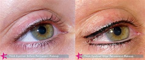 permanent makeup eyes before and after images eyeliner