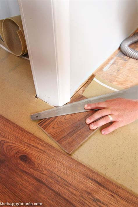Installation Of Laminate Flooring 10 Great Tips For A Diy Laminate Flooring Installation The Happy Housie