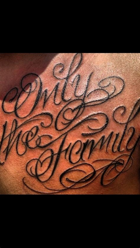 otf tattoo only the family tattoos