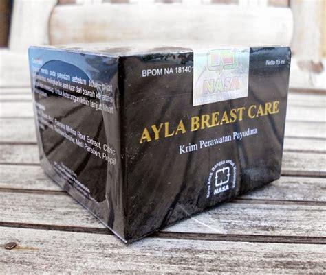 Distributor Mak Urut Asli Nasa krim pembesar payudara ayla breast care nasa 2 brennu