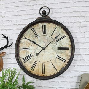 extra large wooden station wall clock melody maison 174 large round copper wall clock melody maison 174