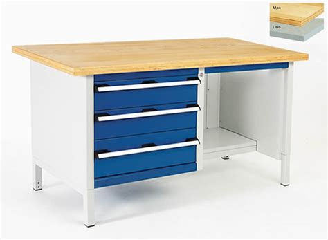 Drawer Storage Bench by Storage Bench With 3 Drawers And Open Section 1500mm