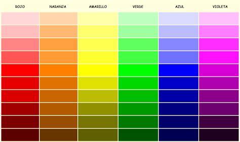 color o gradaci 243 n de color realiza representaciones gr 225 ficas