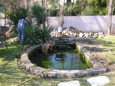 Amenagement De Bassins De Jardin 2484 by Chantier D Am 233 Nagement D Un Bassin De Jardin Habitatpresto