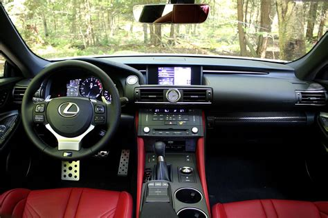 lexus rc interior first drive 2015 lexus rc f and rc 350 digital trends