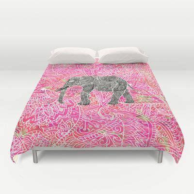 henna design quilt covers pink safari tribal paisley elephant henna pattern duvet
