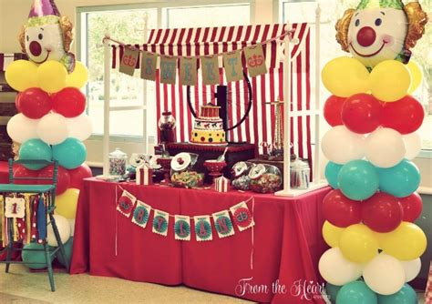 sweetlooking at home kids party ideas birthday cool decorations vintage circus party guest feature celebrations at home