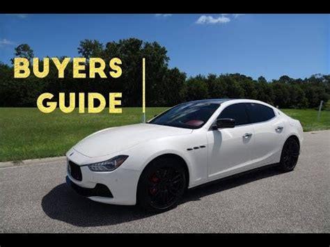 Should I Buy A Maserati 2016 Maserati Ghibli Review And Road Test Doovi