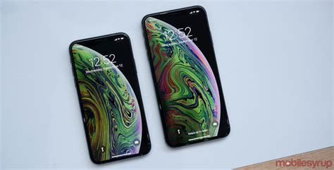iphone xs and iphone xs max on apple s new smartphone